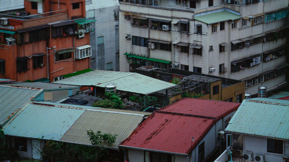 Hundreds of thousands of people live in illegal rooftop dwellings.