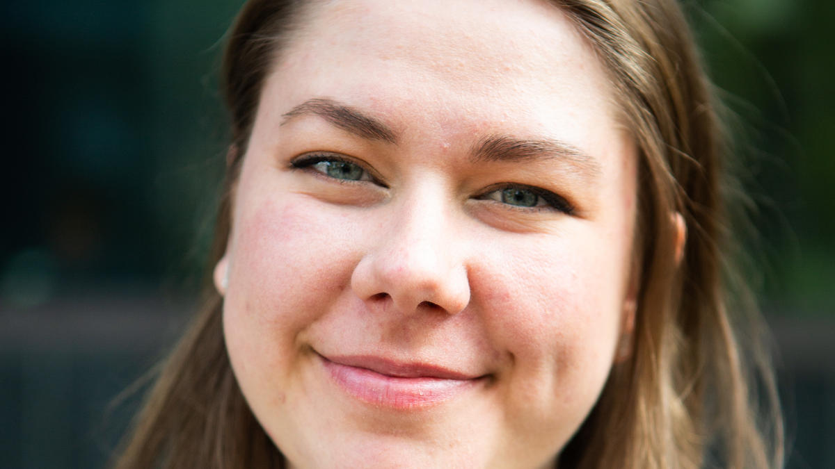 Julie Alsin was born and raised in Norway. But she hasn't always identified as being Norwegian. She feels quite at home in Internationalista and joined the political party earlier this year. Now she's their top candidate and competing for a seat in the Student Parliament.